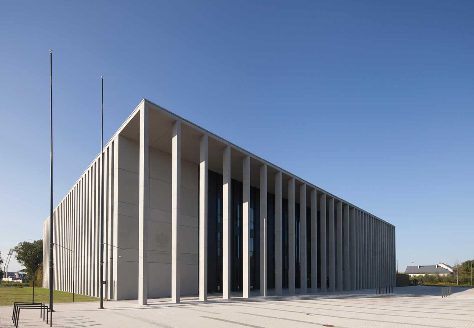 Regional Court Building Siedlce designed by HRA Architekci